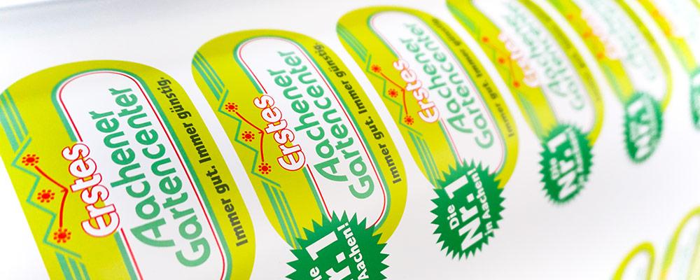 Aufkleber | Folienschnitte, Digitaldrucke & Sticker