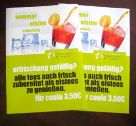 Angebotsplakate in DN A0 gedruckt