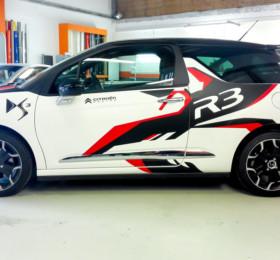 Citroen D3 Racing-Folierung
