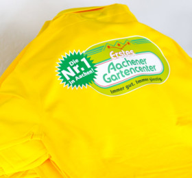 Arbeits-Poloshirts mit Logoaufdruck