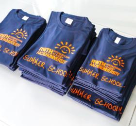 Summer School T-Shirts der RWTH Aachen
