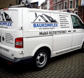 Folienbeschriftung auf Firmenwagen