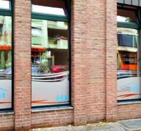 Sicherheitsfolierung mit Anti-Glasbruchfolie