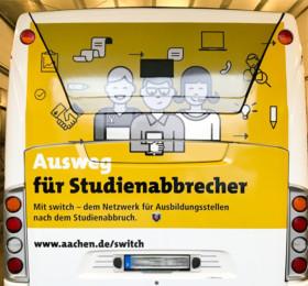 Busbeschriftung mit Digitaldruckfolien