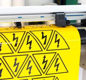 Gefahrenaufkleber für Maschinenbeschriftung