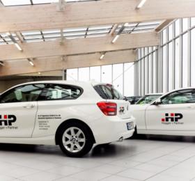 Leasing Fahrzeug beschriften