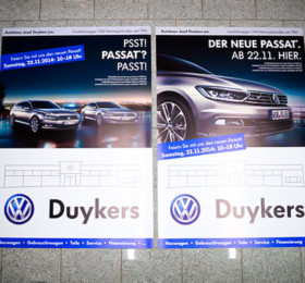 Plakate für kundenstopper