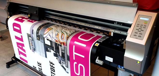 Digitaldruck im Großformat