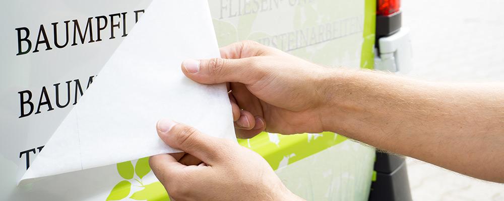 Klebeanleitung | Aufkleber und Folienschnitte schnell & einfach selbst verkleben
