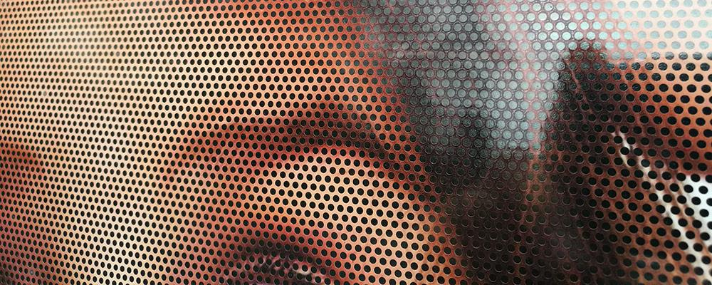 One Way Vision-Lochfolien | Durchblick von Innen – Sichtschutz von Außen