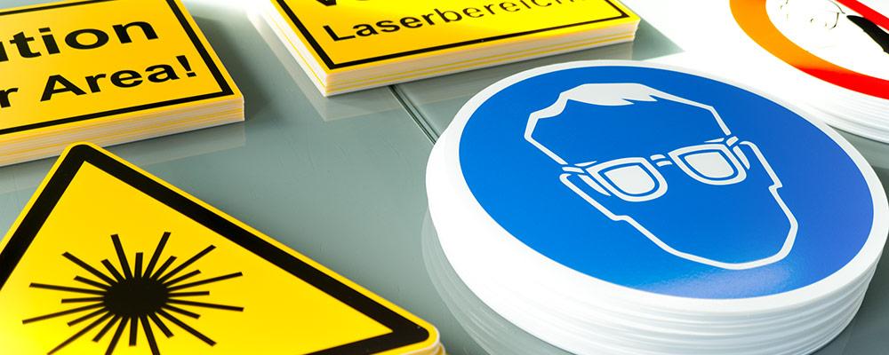 Schilder | Werbeschilder, Firmenschilder und Gefahrenschilder aus Plexiglas, PVC und Alu-Dibond