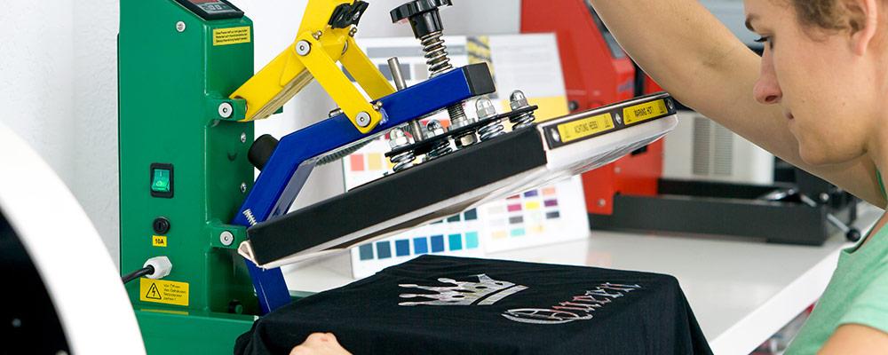 Textildruck | Flockdruck, Flexdruck, Transferdruck & Siebdruck